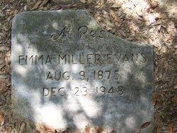 Emma <i>Miller</i> Evans