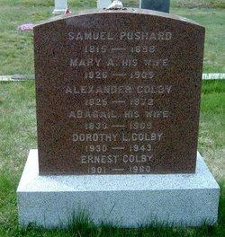 Mary A. <i>Getchell</i> Pushard