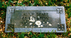 Alice Alexandria <i>Sharp</i> Leaverton