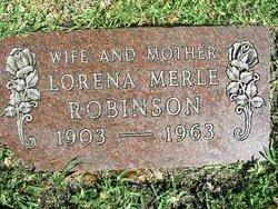 Lorena Merle <i>Bollier</i> Robinson
