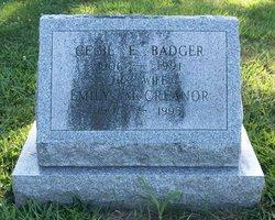 Cecil E Badger