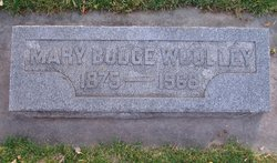 Mary Scott <i>Budge</i> Wooley