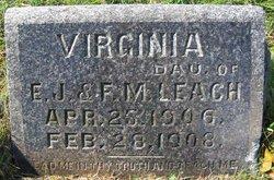Virginia Croft Leach