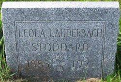 Leola <i>Lauderbach</i> Stoddard