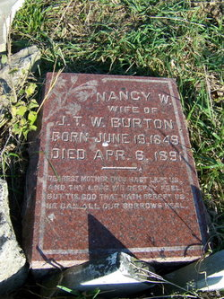Nancy W <i>Routt</i> Burton