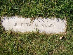 Juletta <i>Farr</i> Weeks