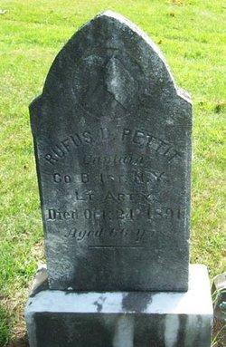 Rufus D Pettit
