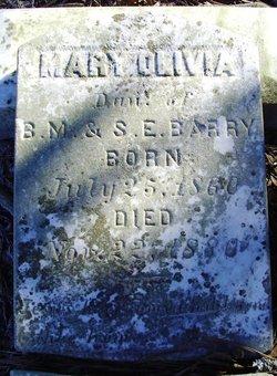 Mary Olivia Barry