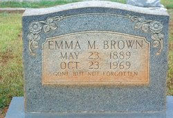 Emma M Brown