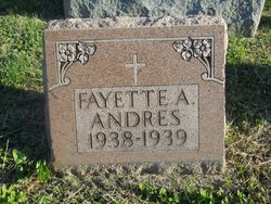Fayette A Andres