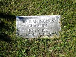 Beulah <i>Morris</i> Champion