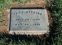 Fay A Brunson