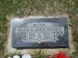 Helen Goldie <i>McGaughey</i> Abercrombie