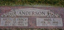 Hazel Mary <i>Tracy</i> Anderson