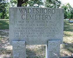 Wadesboro Cemetery