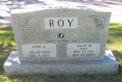 Olive M <i>Bell</i> Roy