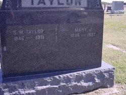Samuel Walker Sam Taylor