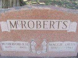 Maggie <i>Orth</i> McRoberts