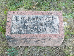 Eliza Ellen <i>Thomas</i> Abanathy
