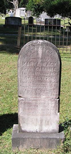 Mary Ann <i>Gardiner</i> Acy