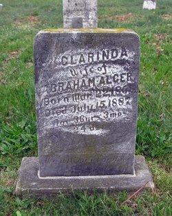 Clarinda <i>Jenkins</i> Alger