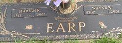 Marian Ruby <i>Hess</i> Earp
