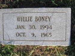 Willie Boney