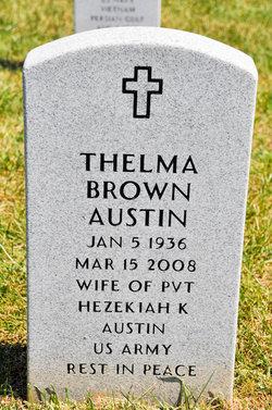 Thelma <i>Brown</i> Austin
