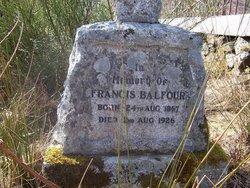 Francis Balfour