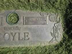 Mrs Alberta <i>Williams</i> Doyle