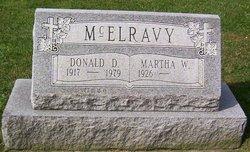 Donald D McElravy