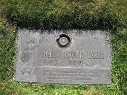 Mary Lou <i>Burton</i> Behn