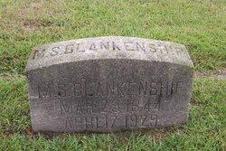 Martha Susan <i>Patterson</i> Blankenship