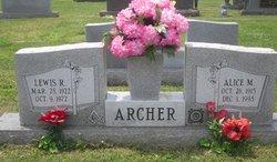 Alice M. <i>Conley</i> Archer