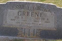 Nettie Louvenia <i>Adams</i> Greene