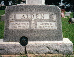 Elizabeth <i>Saxon</i> Alden