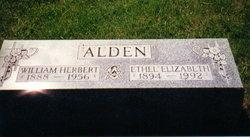 Ethel Elizabeth <i>Westbay</i> Alden