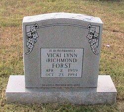 Vicki Lynn <i>Richmond</i> Forst