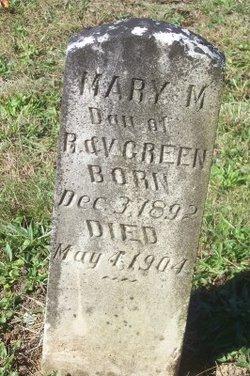 Mary M Greene