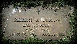 Sgt Robert A. Gideon