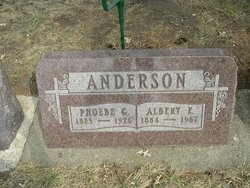 Phoebe G. <i>Ahl</i> Anderson