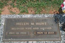 Helen <i>Mauney</i> Hunt