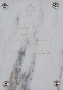William H Roer
