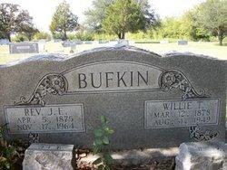 Willie Talilice <i>Martin</i> Bufkin