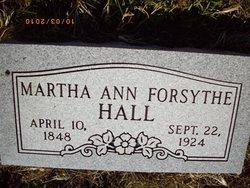 Martha Ann <i>Hall</i> Forsythe