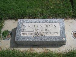 Ruth <i>VanBlaricon</i> Dixon