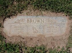 Mattie M Brown