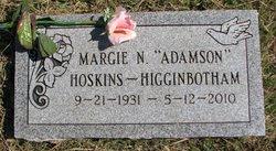 Marjorie Nadine <i>Adamson</i> Higginbotham