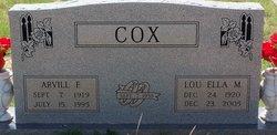 Arvill Frank Cox