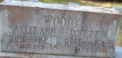 Sallie Ann <i>Cook</i> Woody